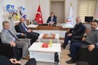 SOLMAZ - Kamu Hastaneleri Birliği Genel Sekreteri Uzm. Dr. Tunga Barçın'a Ziyaret