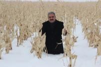 Karaman'da 1 Metreyi Bulan Kar Çiftçiyi Sevindirdi