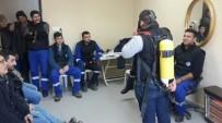 İŞÇİ GÜVENLİĞİ - MASKİ Personeline İş Güvenliği Eğitimi