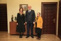 AYLİN NAZLIAKA - Milletvekili Nazlıaka, Başkan Kurt'u Ziyaret Etti