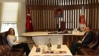 MUSTAFA ELDIVAN - Mustafa Eldivan'dan Rektör Kılıç'a Veda Ziyareti