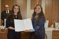 MUHAMMED ALI - YÖK'ten Düzce Üniversitesi Birincilerine Kutlama Belgesi
