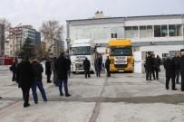 ABDULLAH ERIN - Adıyaman'dan Suriye'ye 2 Tır Dolusu Yardım Gönderildi