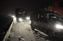 AFYONKARAHİSAR VALİLİĞİ - Afyonkarahisar'da Kar Yağışı