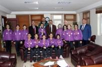 İSMAİL KARAKULLUKÇU - Arifiye'nin Hentbol Yıldızlarından Başkan Karakullukçu'ya Ziyaret