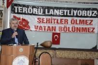 MEHMET ÖZER - Başkan Baran, Şehitleri Anma Programına Katıldı