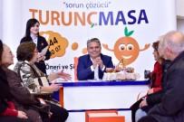 KONSEPT - Başkan Uysal'a Turunç Reçeli Hediyesi
