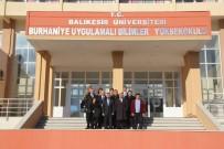 Burhaniye' De Banka Müdürlerinin Üniversite İşbirliği