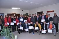 EKREM ÇALıK - Fethiye'de Milli Eğitim Personeline Başarı Belgesi Verildi