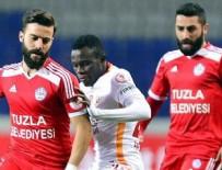 TUZLASPOR - Galatasaray 'Tuzla' buz oldu