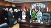 GÜLÜÇ - Gülüçlü Bayanlardan Başkan Demirtaş'a Teşekkür Ziyareti