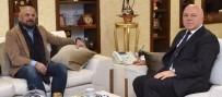 METE YARAR - Güvenlik Politikaları Uzmanı Yarar'dan Başkan Sekmen'e Ziyaret