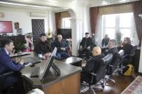 YASIN ÖZTÜRK - Kaymakam Öztürk'e Gazetecilerden Ziyaret