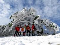 ANTARTİKA - Kazdağları Buz Tuttu