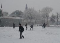 SOĞUK HAVA DALGASI - Kula'da Kar Yağışı