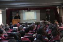 Milas'ta Şair Kale Öğrencilerle Buluştu