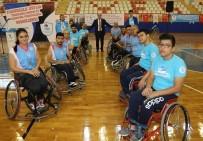TEKERLEKLİ SANDALYE BASKETBOL - Pamukkale Belediyesi Engellilerin Yanında