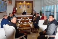 UĞUR POLAT - Polat, Şube Başkanlarıyla Bir Araya Geldi