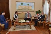KıRıM - Ukrayna Büyükelçisi Sybiha Vali Karaloğlu'nu Ziyaret Etti
