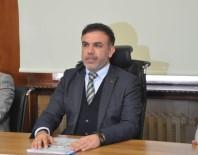 İNŞAAT ALANI - Yeni Genel Sekreter Barçın, Basın Mensupları İle Tanıştı