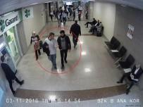 DEVLET MEMURU - Adliyeyi Mesken Tutan Hırsızlar Güvenlik Kamerasında