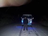 KARACAÖREN - Aydın'ın Yüksek Kesimlerinde Kar Sevinci Yaşandı