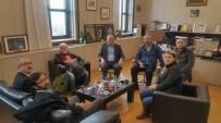 DOĞAN HABER AJANSı - Başkanın Ulusal Basın Ziyaretleri