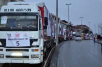 ÇEKMEKÖY BELEDİYESİ - Çekmeköy Halep'e 25 Tır Yardım Gönderdi