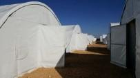İĞDE - Diyanet Vakfından Suriye'ye Bin 200 Aile İçin Çadır Kent