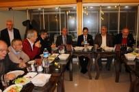 AKıN AĞCA - Emirdağ'dan Çifteler İlçesine Atanan Kaymakam Akın Ağca'ya Veda Yemeği