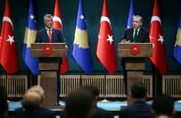 KOSOVA - Erdoğan'dan Kosovalı Gazeteciye FETÖ Cevabı