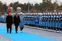 RESMİ TÖREN - Erdoğan, Kosova Cumhurbaşkanını Resmi Törenle Karşıladı