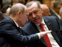 VLADIMIR PUTIN - Erdoğan Putin'le görüştü