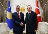 YURTDIŞI TÜRKLER VE AKRABA TOPLULUKLAR - Erdoğan-Taçi Ortak Basın Toplantısı