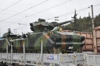 KÖSEKÖY - Fırat Kalkanı Harekatına Zırhlı Muharebe Aracı Takviyesi