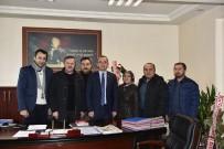 ÖĞRENCILIK - Gazetecilerden; Kaymakam Deniz Pişkin'e 'Hayırlı Olsun' Ziyareti