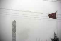GAZİANTEP HAVALİMANI - Gaziantep'te Yoğun Sis
