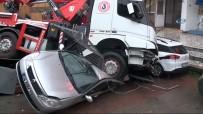 CEVIZLI - İstanbul'da Kamyon Dehşeti Açıklaması 6 Aracı Ezdi
