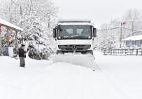 BEŞPıNAR - İzmir'de Kar Alarmı