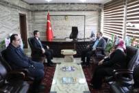 Milletvekili Göktürk Ve İlçe Başkanı Asiltürk'ten Kaymakama Hayırlı Olsun Ziyareti
