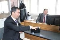 ERTAN PEYNIRCIOĞLU - Niğde'de Çipli Kimlik Kartı Başvuruları Başladı