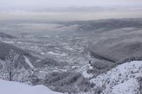 BOLU DAĞı - Bolu Dağı Beyaz Gelinliğini Giydi