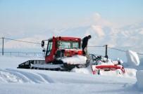 KRATER GÖLÜ - Nemrut Kayak Tesisi Kayakseverleri Bekliyor