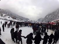 Rize 10'Uncu Kardan Adam Şenliği'ne Hazırlanıyor