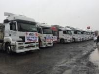 SERENLI - Sakarya'dan Halep'e 18 Tır Yardım Malzemesi Gönderildi