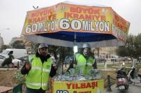 YARIM BİLET - Seyyar Milli Piyango Bayilerinin Yoğun Mesaisi