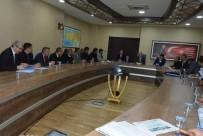 BÜNYAMİN KUŞ - Siirt'te Ilısu Barajı Ve HES Projesi Değerlendirme Toplantısı Yapıldı