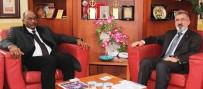 DıŞ EKONOMIK İLIŞKILER KURULU - Sudan Ticaret Bakanından MÜSİAD Konya Şubesi'ne Ziyaret