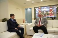 FAHRİ KONSOLOSLUĞU - Ukrayna Büyükelçisi'nden Başkan Türel'e Ziyaret
