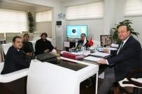 MESUT ÖZAKCAN - Zafer Ortaokulu'ndan Başkan Özakcan'a Teşekkür Ziyareti